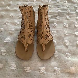 Guiseppe Zanotti Design Vero Cuoio Sandals Size 6